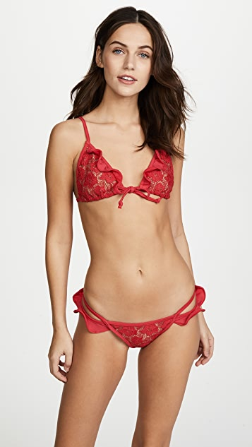 For Love & Lemons Beverly Low Rise Bottoms