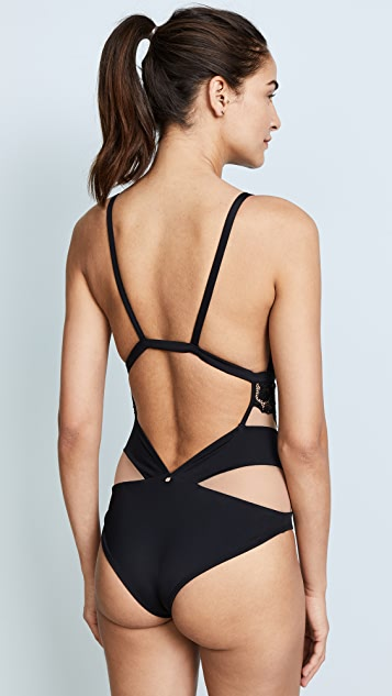 For Love & Lemons Beverly Lace One Piece