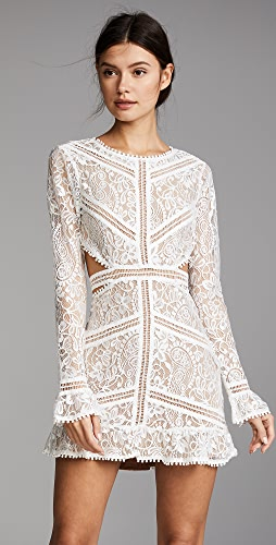 For Love & Lemons - Emerie Cutout Dress