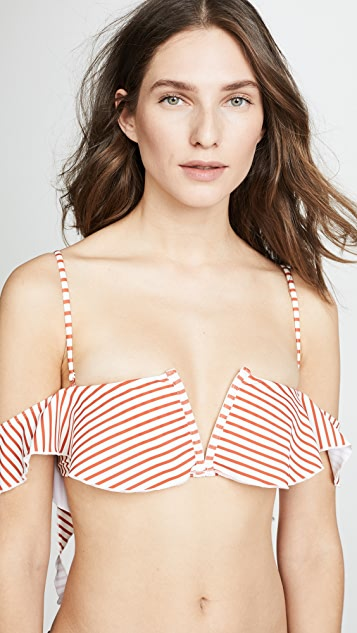 For Love & Lemons Coco Off Shoulder Top