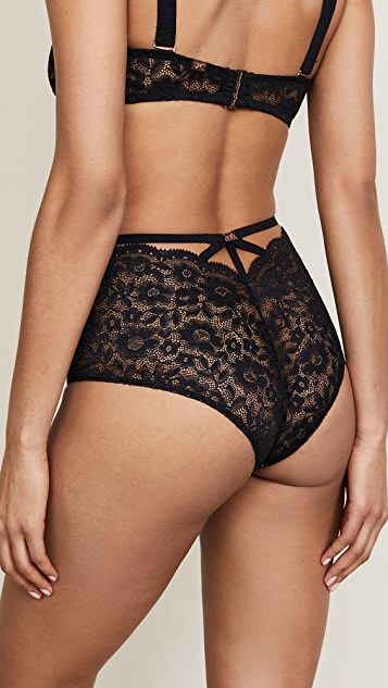For Love & Lemons Havana High Waisted Panties