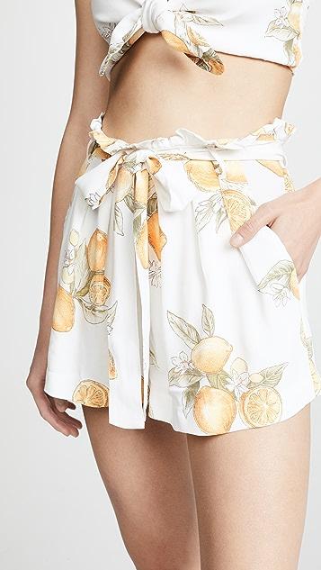 For Love & Lemons Lemonade Skort