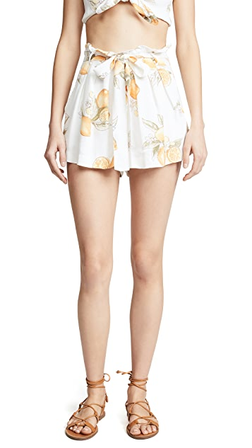For Love & Lemons Lemonade Skort