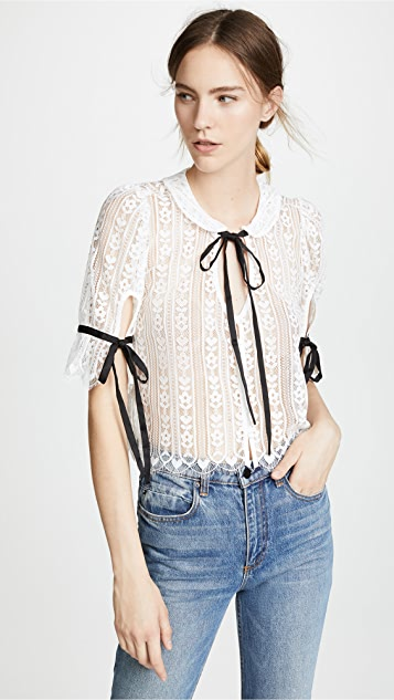 Dakota Lace Blouse by For Love & Lemons