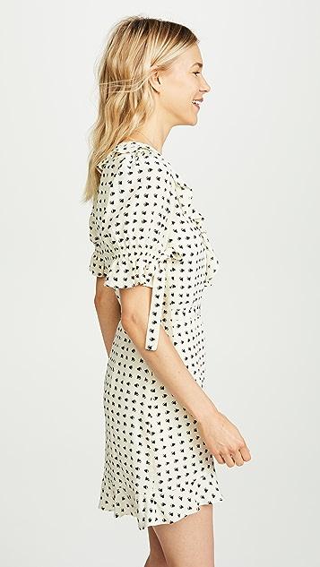 For Love & Lemons Sweetheart Wrap Dress