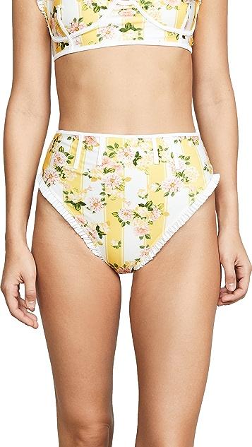 For Love & Lemons Charleston Bikini Bottoms