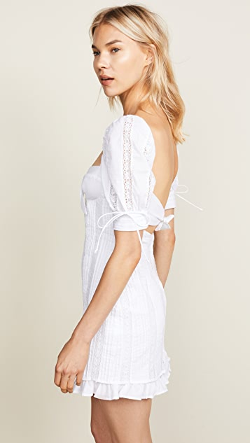 For Love & Lemons Virginia Mini Dress