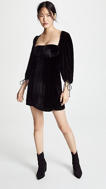 d06a9a6eaa7 Nadine Velvet Bustier Dress