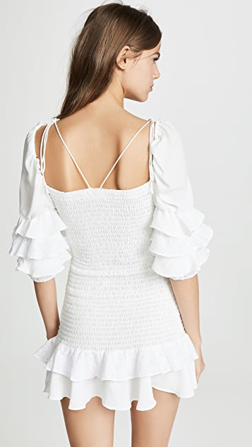 For Love & Lemons Мини-платье Bora Bora