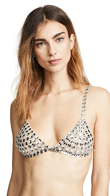 For Love & Lemons Sin City Triangle Bra