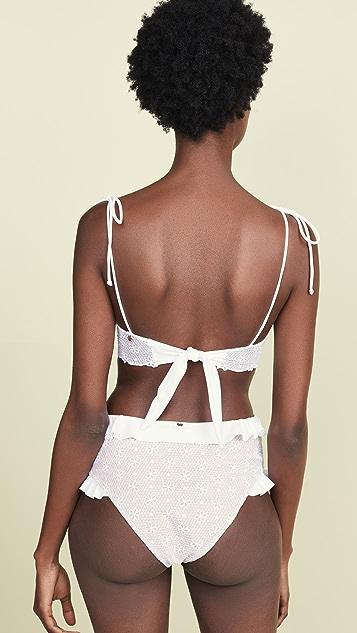 For Love & Lemons Elle Underwire Bikini Top