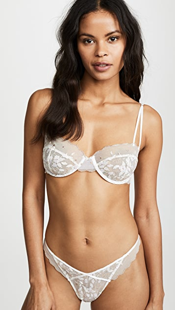 For Love & Lemons Marguerite Embroidery Underwire Bra