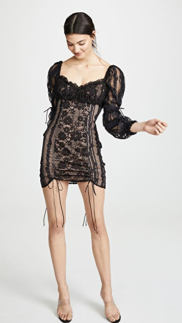 For Love & Lemons Мини-платье Monroe