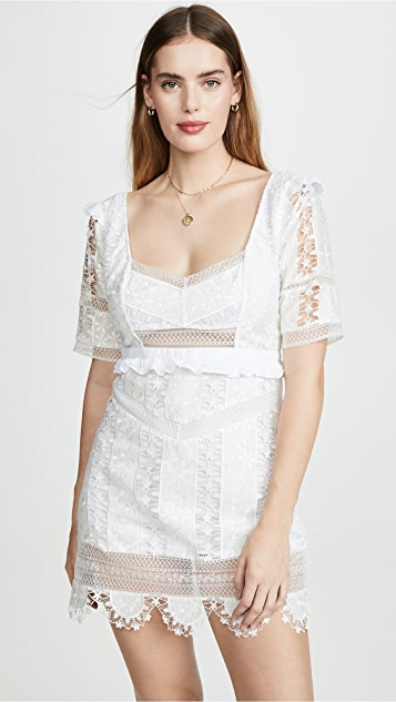 For Love & Lemons Amandine Mini Dress