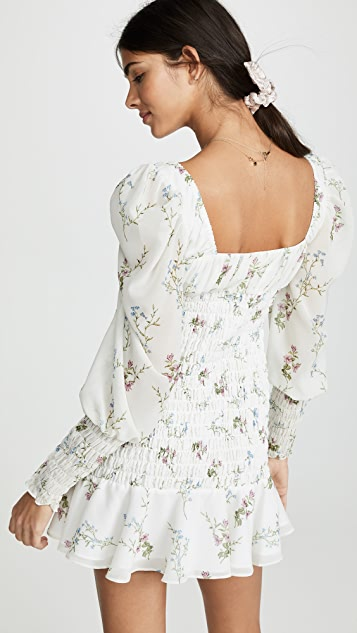 For Love & Lemons Мини-платье Dixon
