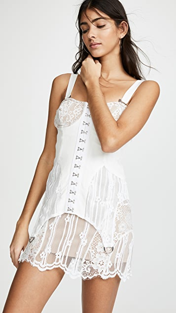 For Love & Lemons Alexandria Mini Dress