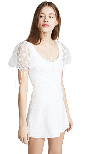 For Love & Lemons Felix Mini Dress