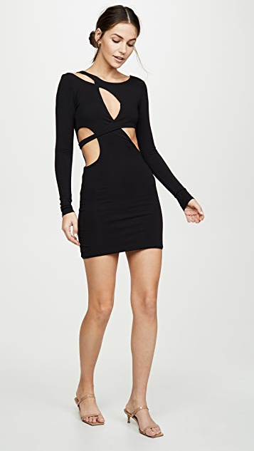 For Love & Lemons Avril Cutout Dress