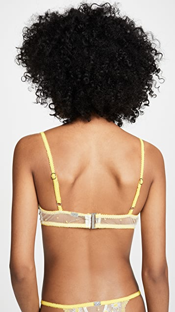 For Love & Lemons Lemon Drop Underwire Bra