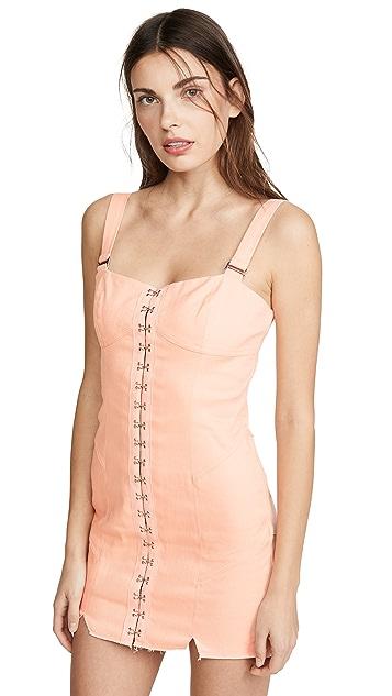 For Love & Lemons Мини-платье с крючком спереди Monika
