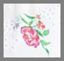 花卉印花圆孔