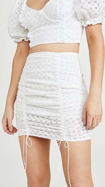 For Love & Lemons Montauk Miniskirt