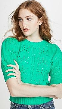 Brooke Pointelle Sweater
