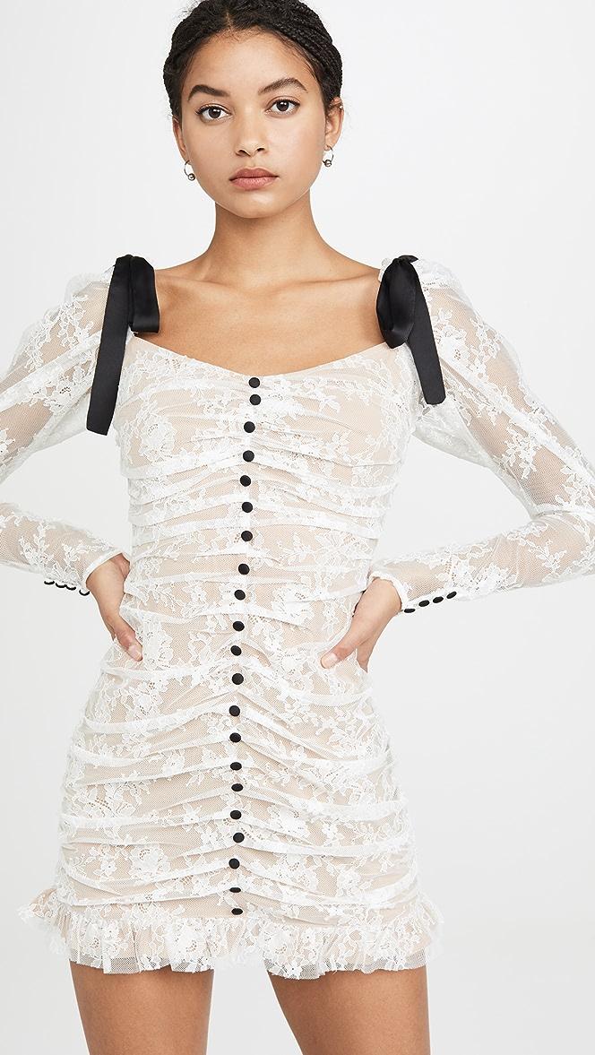 For Love Lemons Beverly Pleated Mini Dress Shopbop