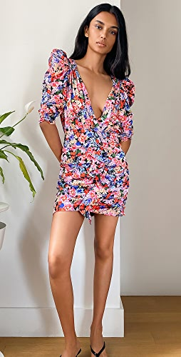 For Love & Lemons - Bouquet Mini Dress