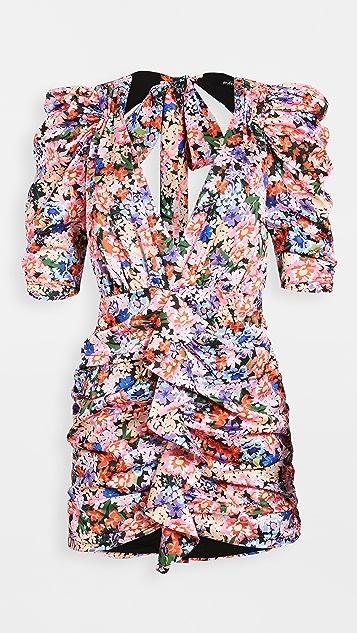 For Love & Lemons Bouquet Mini Dress