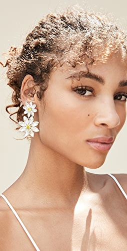 For Love & Lemons - Marguerite Crystal Earrings
