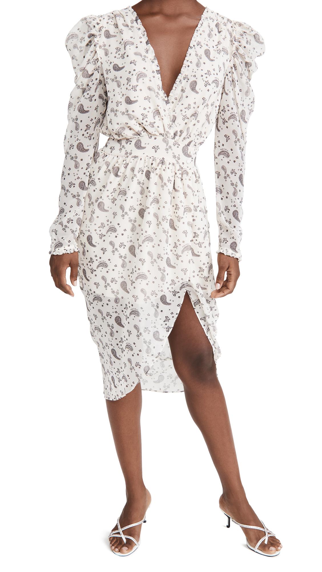 For Love & Lemons Paisley Midi Dress