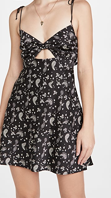 For Love & Lemons Paisley Mini Dress