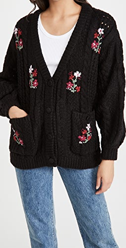 For Love & Lemons - Amaryllis Button Down Cardigan