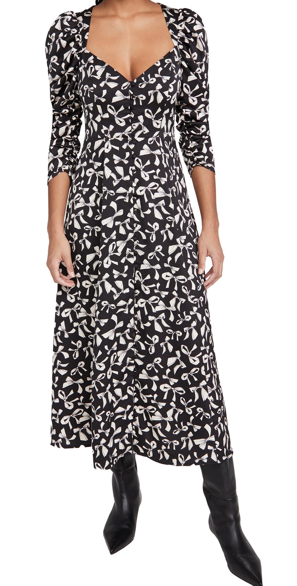 For Love & Lemons Angelica Maxi Dress