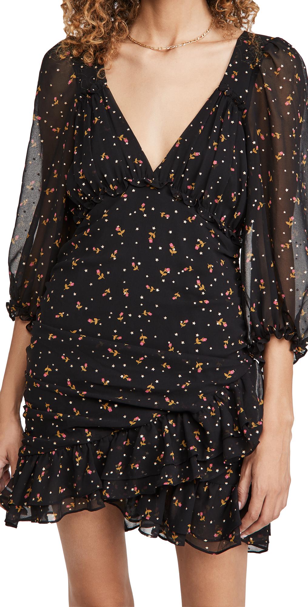 For Love & Lemons Juliana Mini Dress
