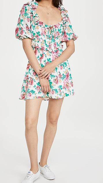 For Love & Lemons Imogen Mini Dress