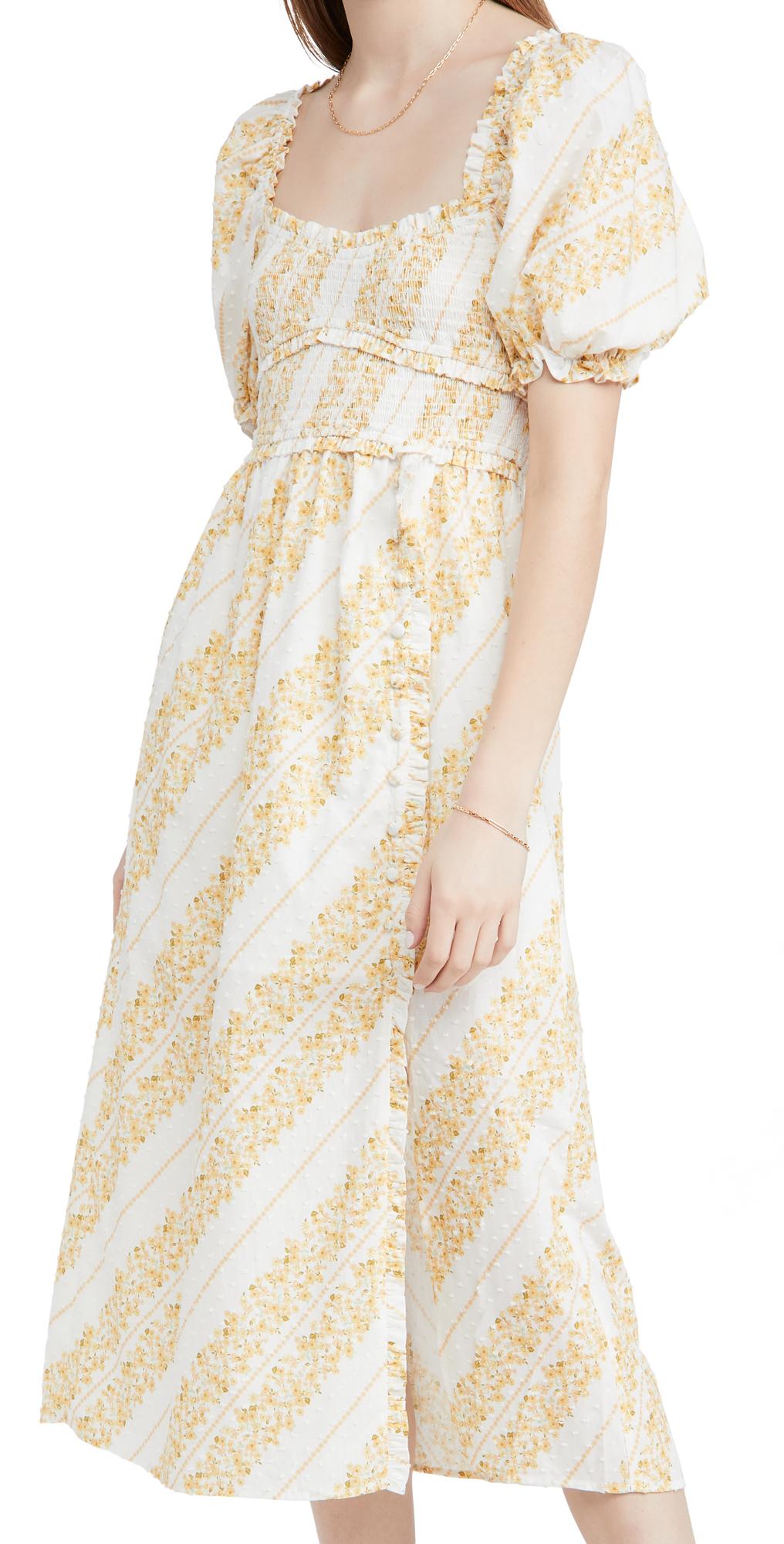 Lucie Midi Dress