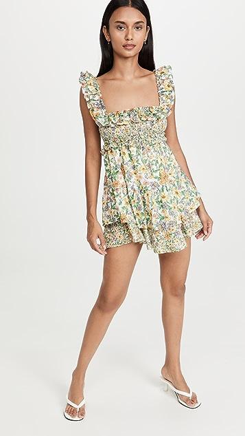 For Love & Lemons Riley Mini Dress
