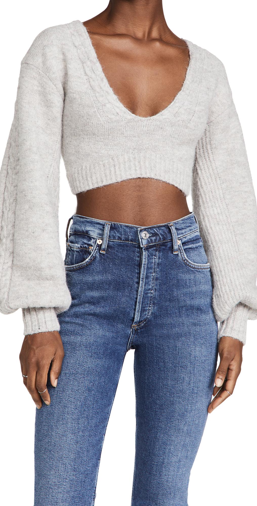 Amelia Crop Sweater