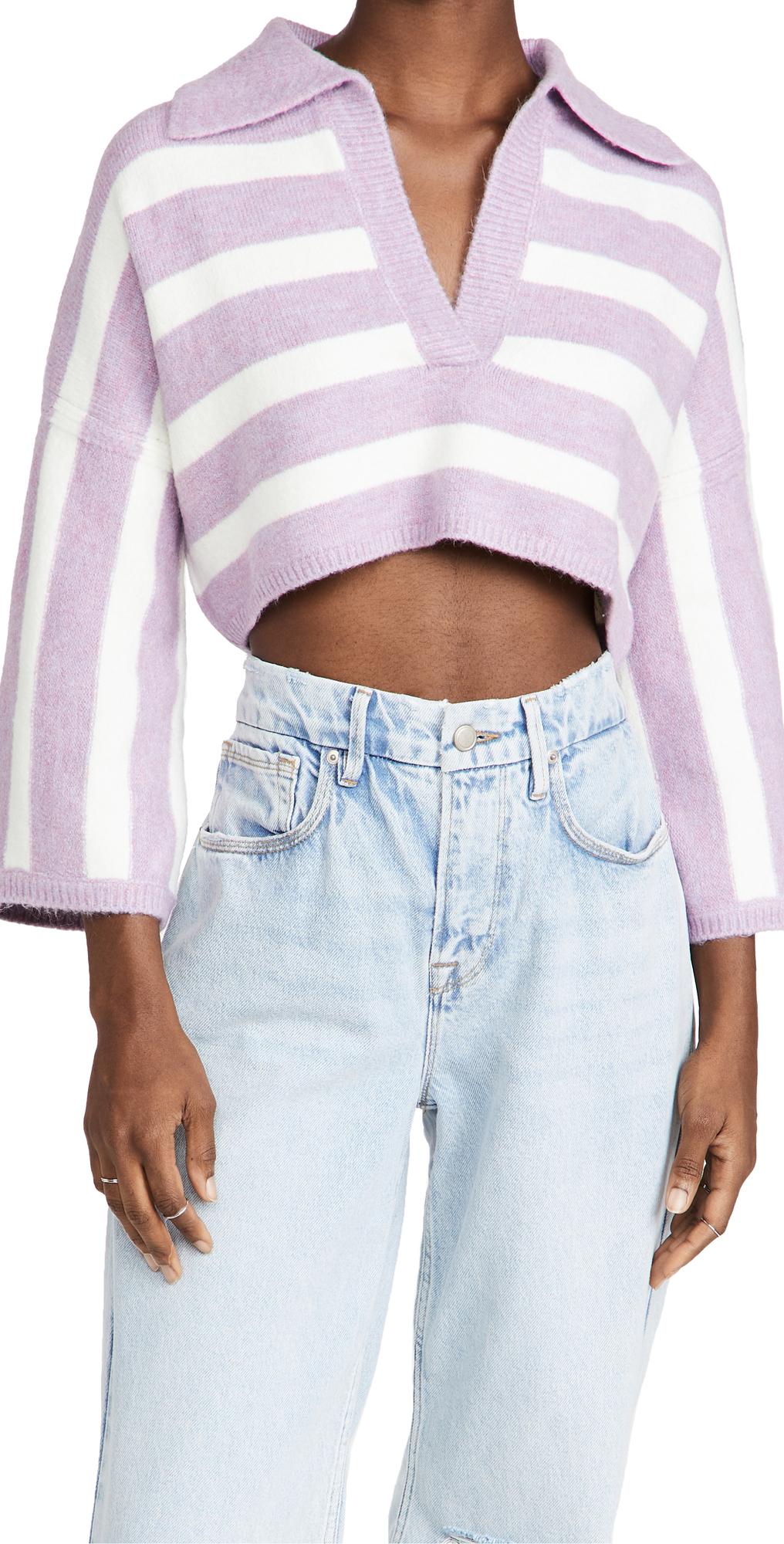 Maud Boxy Crop Sweater