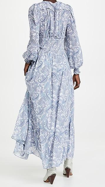 For Love & Lemons Janelle Maxi Dress