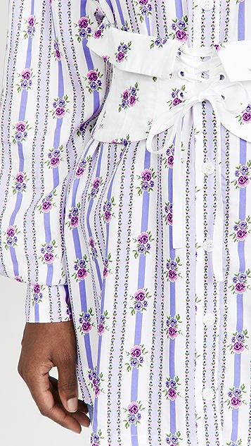 For Love & Lemons Dahlia Boyfriend Shirt