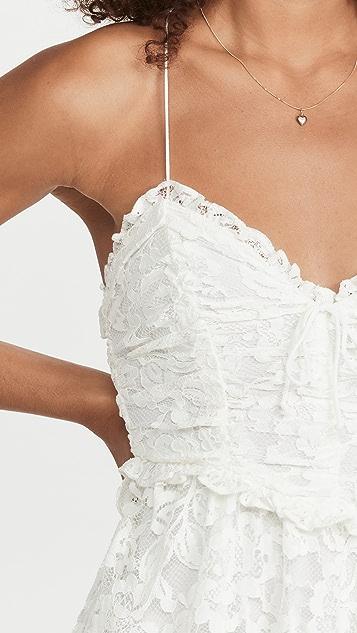 For Love & Lemons Joelle Maxi Dress