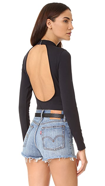 Flynn Skye Cody Open Back Bodysuit