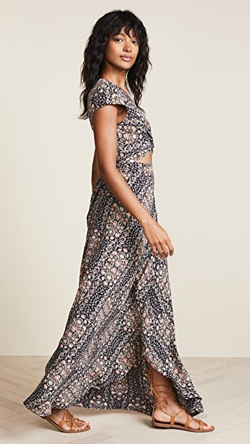 Flynn Skye All Wrapped Up Maxi Dress