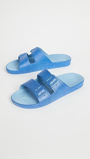 Freedom Moses Moses 双带凉拖鞋