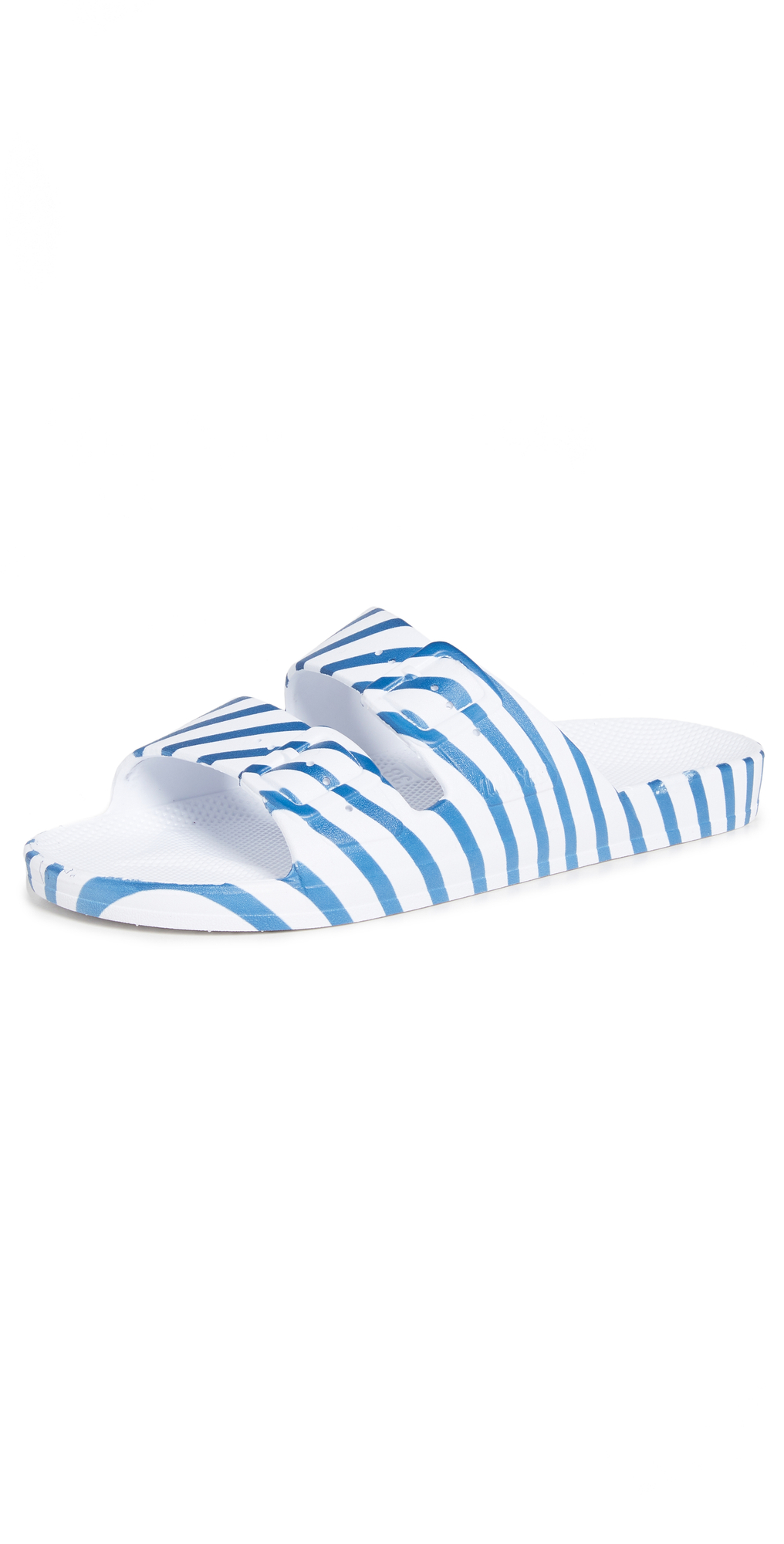 x Solid & Striped Moses Two Band Slides