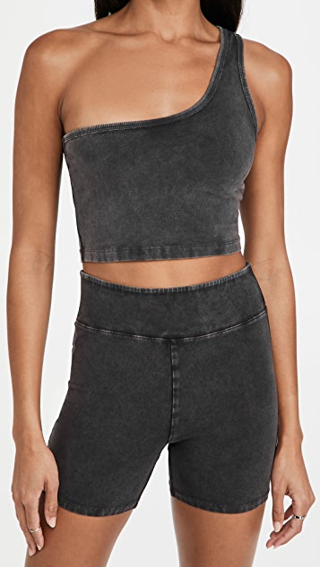 FP Movement by Free People Hot Shot One Shoulder Cropped Tank