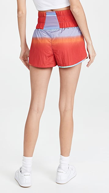 FP Movement by Free People The Way Home Printed Shorts